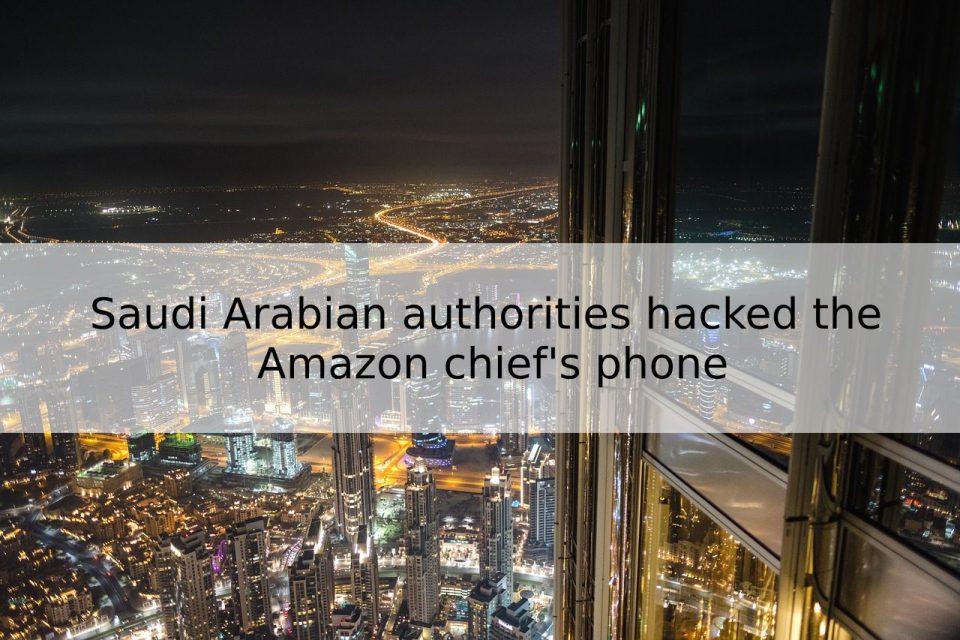 Amazon chief hacked