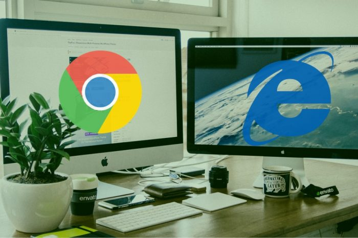 Google vs Microsoft Why this war on browsers doesn't concern privacy