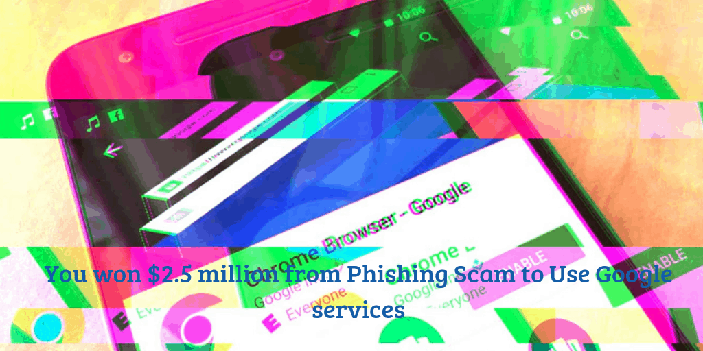 Phishing Scam to Use Google services