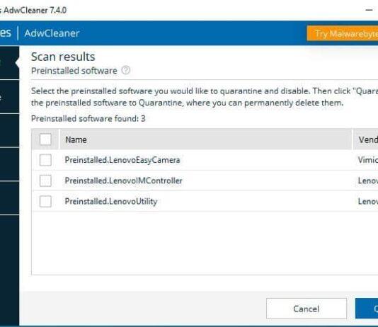 detected-preinstalled-software