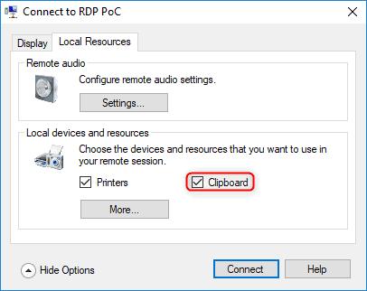 RDP-Hyper-V-shared-settings