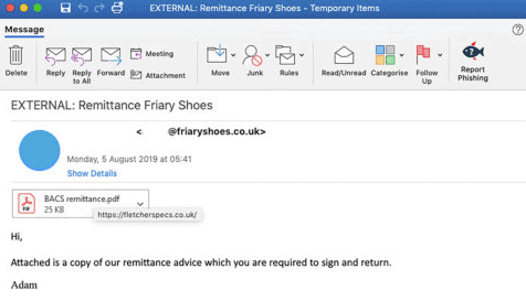 Sample-malspam-email