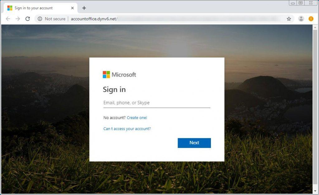 fake-microsoft-account-login