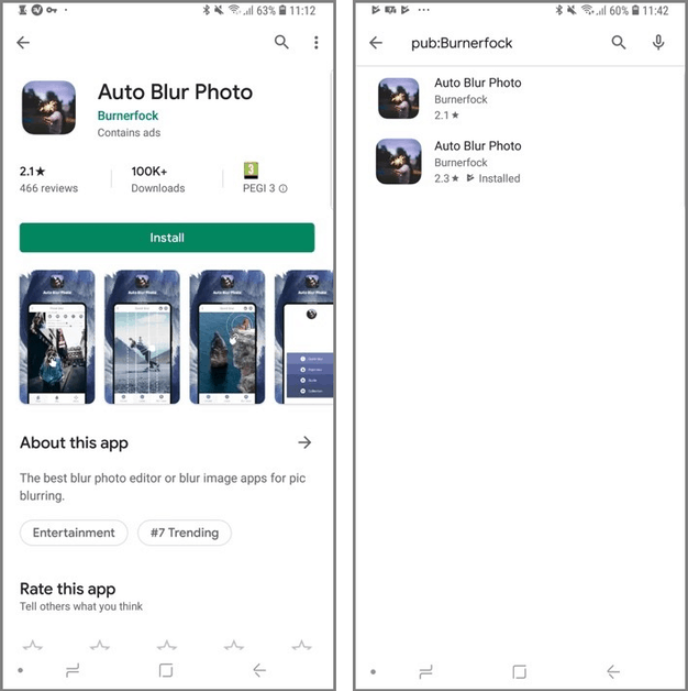 Abusing Play Store Charts to boost malicious apps