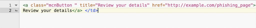 Hiding the landing page URL