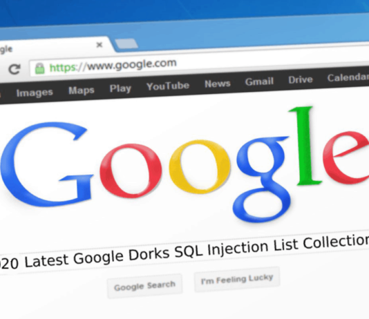 Google-Dorks-SQL-Injection 2020