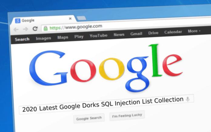 Google-Dorks-SQL-Injection 2020