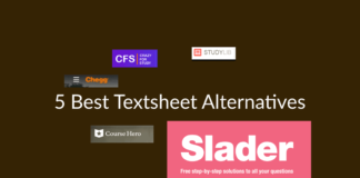 5 Best Textsheet Alternatives