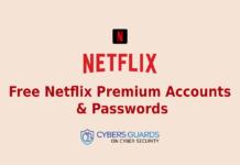 Free Netflix Premium Accounts & Passwords