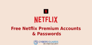 Free Netflix Premium Accounts & Passwords