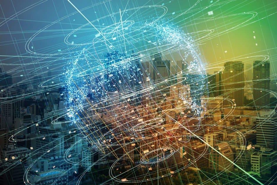 Big data abstract digital concept