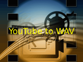 YouTube to WAV