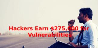 Hackers Earn $275,000
