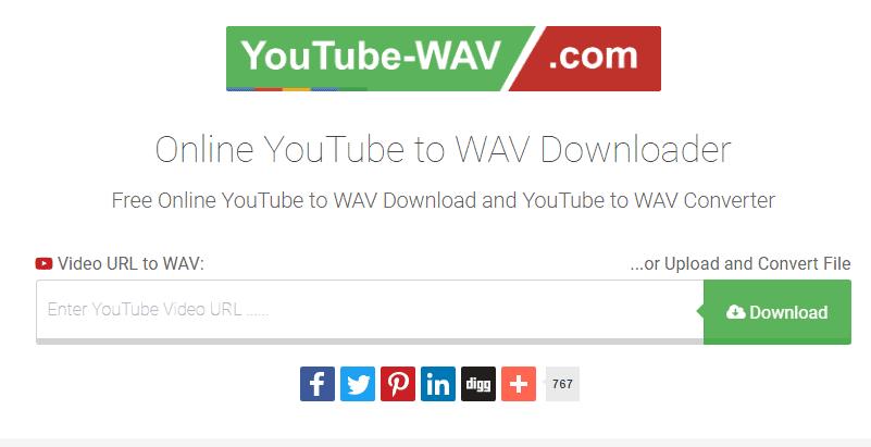 youtube-wav