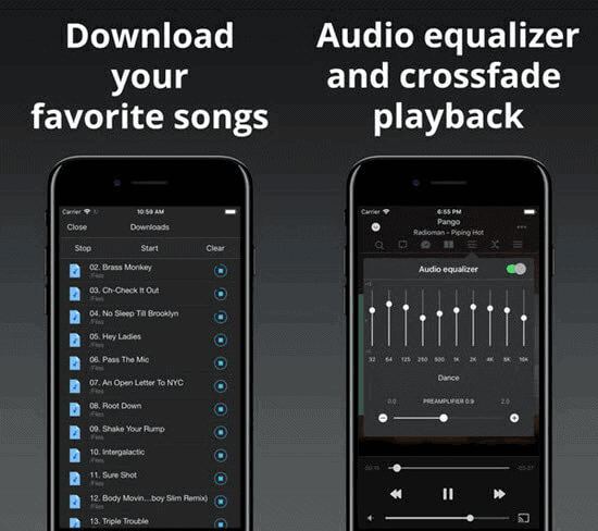 free-music-download-app-iphone-evermusic