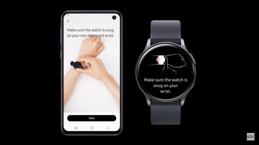 Samsung app for blood pressure